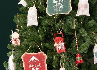 Guirlandes et boules de Noël - Calendrier de l'Avent à suspendre et décoration de Noël  - AMADEUS