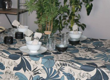 Table linen - Lombok Laminated Tablecloth - SUD ETOFFE