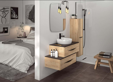 Commodes - Meuble salle de bain BENTO - DECOTEC