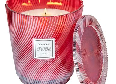 Bougies - Crushed Candy Cane 5 Wick Hearth Candle - VOLUSPA
