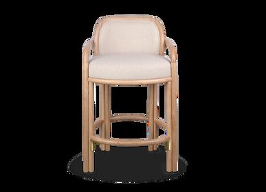 Chairs - James Bar Chair  - WOOD TAILORS CLUB