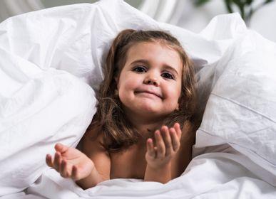 Linge de lit - Parure de lit bébé - Taie d'oreiller et housse de couette 85x125cm et 35x45cm - LUIN LIVING