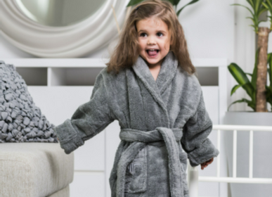 Bathrobes - Kids Bathrobe, available in 3 sizes - LUIN LIVING