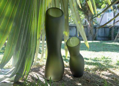 Vases - Verre soufflé à la main  - 3,CO