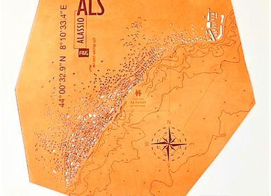 Other wall decoration - Alassio| H 130 - L 103 cm | Édition limitée - Décoration murale - FRANK&FRANK
