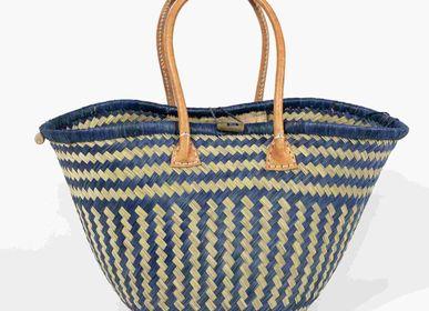 Shopping baskets - TULIPE BASKET - SUN AND GREEN