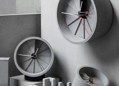 Clocks - 22STUDIO_4D Concrete Clock - FRESH TAIWAN