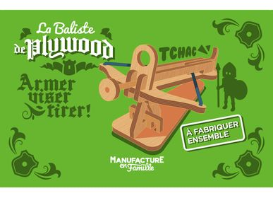 Toys - Plywood Ballista - MANUFACTURE EN FAMILLE