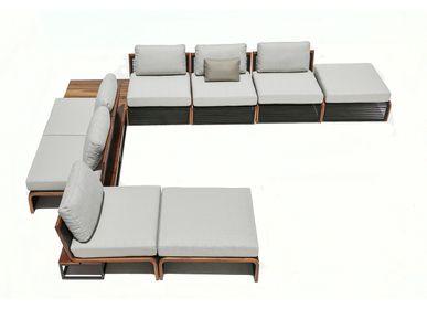 Lawn sofas   - BUSSOLA MODULE - MODALLE
