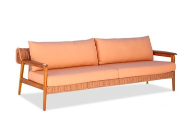 Lawn armchairs - FASCINO 3 SEATER SOFA - MODALLE