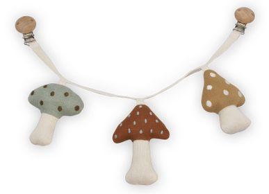 Accessoires enfants - Pram Chain - Mushrooms - SAGA COPENHAGEN APS