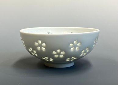 Bowls - Suishyobori (crystal carving) bowl - YOULA SELECTION
