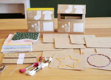 Cadeaux - eguchitoys_Sewing Kit & Cutting busy box - FRESH TAIWAN