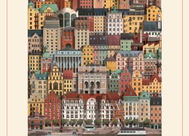 Cadeaux - Stockholm Puzzles (1000 pièces) - MARTIN SCHWARTZ