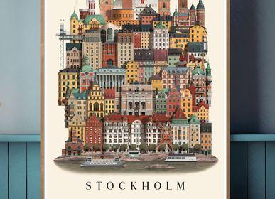 Gifts - Stockholm Poster - MARTIN SCHWARTZ