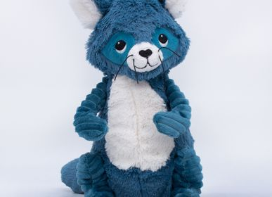 Soft toy - RACOON BLUE – LES PTIPOTOS - LES DEGLINGOS