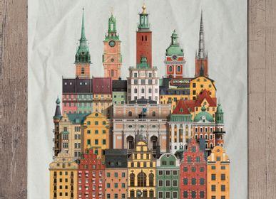 Gifts - Stockholm tea towel - MARTIN SCHWARTZ