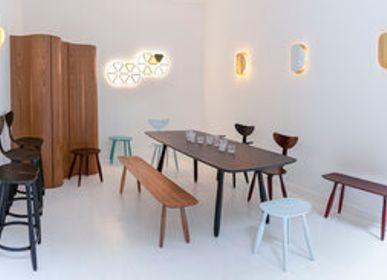 Tables Salle à Manger - Table Daiku en frêne teinté - VICTORIA MAGNIANT POUR GALERIE V