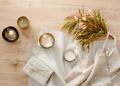 Cadeaux - Bougies Naturelles et bols déco en noixde coco  - CHIC MIC