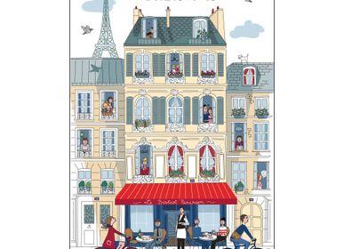 Linge d'office - Torchons parisiens et bordelais - WINKLER