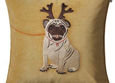 Autres décorations de Noël - Coussins en velours - motifs de Noël - CHHATWAL & JONSSON