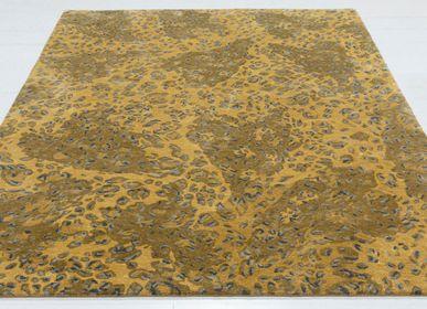 Tapis contemporains - Tapis touffeté à la main naturel et luxueux Leopard Love - OBEETEE
