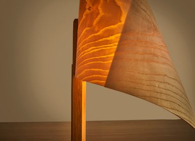 Lampes de table - lampe  de chevet DRAPÉ - VAN DEN HEEDE-FURNITURE-ART-DESIGN