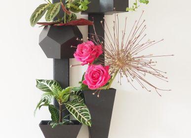 Other wall decoration - Wall Vase EVA Slate Travelling Tree - LE TRÈFLE BLEU