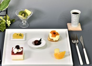 Formal plates - 28cm Square Plate - YOULA SELECTION
