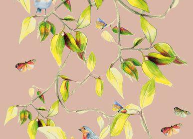 Children's decorative items - CIME wallpaper roll - MAISON LEVY