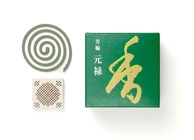 Scents - HORIN Genroku/Returning Spirit (10 coils) - SHOYEIDO INCENSE CO.