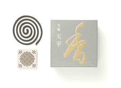 Aménagements pour bureau - HORIN Tenpyo Coil /Peaceful Sky (10 bobines) - SHOYEIDO INCENSE CO.