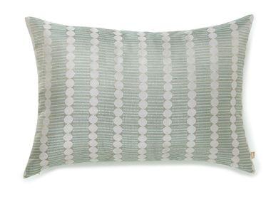 Cushions - Gol Mint Cushion Cover - AADYAM HANDWOVEN