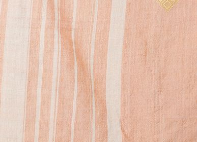 Scarves - Gala Pink Stole - AADYAM HANDWOVEN