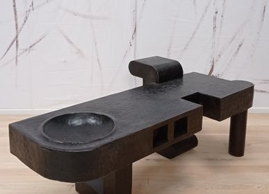 """Coffee tables - console, coffee table """"Rustic""""  - LAUDREN THIERRY"""