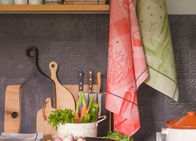 Dish towels - Vegetables - LE JACQUARD FRANCAIS