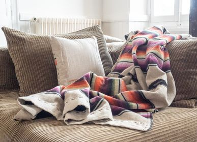 Fabric cushions - TULUM PLAID - BED AND PHILOSOPHY