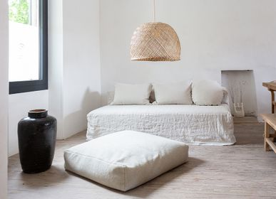 Fabric cushions - FLAT MUMOUTE - BED AND PHILOSOPHY