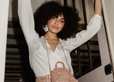 Bags and totes - Mini leather bag MINI VELYANE / MINI OPHELIA - .KATE LEE