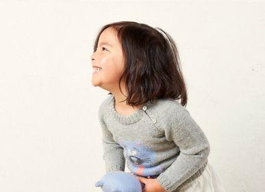 "Apparel - ""HUGO the cat"" sweater & toy - SOL DE MAYO"