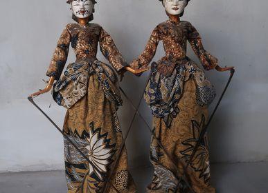 Objets de décoration - Couple Wayang Menak - NYAMAN GALLERY BALI