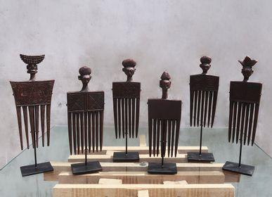 Objets de décoration - Peigne en bois africain - NYAMAN GALLERY BALI