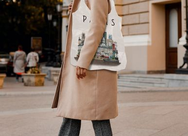 Bags and totes - Tote bag Paris - Recycled polyester  - MARTIN SCHWARTZ