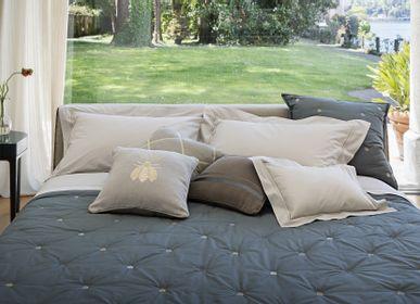 Bed linens - Api percalle Ricami metallici - Bed linens - MASTRO RAPHAEL