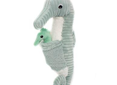 Children's bags and backpacks - Papadou the Seahorse Mint - Les Ptipotos - LES DEGLINGOS