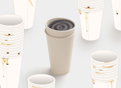 Tea and coffee accessories - ''Take out'' biomass coffee cup collection  - HOUSE OF HOME