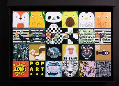 Objets design - ICONICBOX 24 ARTCOLLECTION - ICONICUBE BY AROUNDTHECUBE