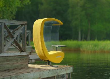 Acoustic solutions - Acoustic armchair - Silence Sound Center - EVAVAARADESIGN
