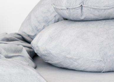 Comforters and pillows - Decorative linen cushion Dot Port colour 45cm - MIKMAX BARCELONA