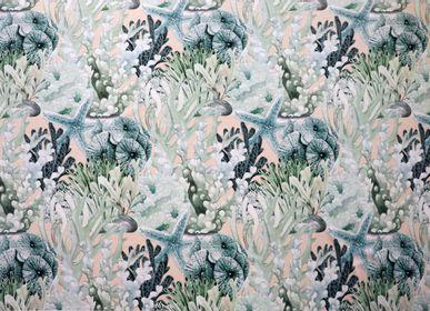 Fabrics - SEALIFE VELVET - ALDECO INTERIOR FABRICS